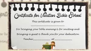 Vbs Certificate Template Vbs Certificate Template Youtube