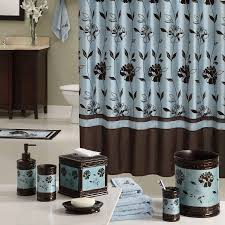 bathroom decor collection  creative design blue and brown bathroom decor aqua blue brown shower