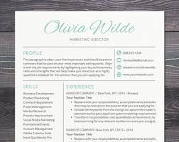 Creative Resume Template - Creative Professional Resume Template for Word,  Mac or PC, Free