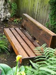 pallet bench diy build pallet furniture plans