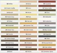 Durabond Stucco Colour Chart Granulated Integral Color