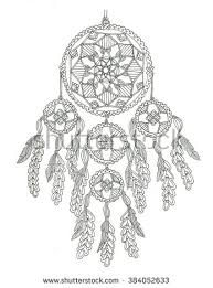 Small Picture Dream catcher coloring page dibus Pinterest Dream catchers