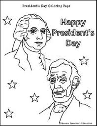 Small Picture presidents day coloring pages activity page president s day