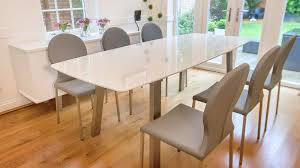 Small Picture Mesmerizing Extended Dining Table And Chairs 57 For Your Best