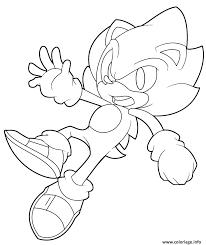 Coloriage Super Sonic Dessin Coloriage Gratuit Pc Flash Tablette