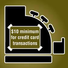 Minimum Credit Card Payment Merchants May Require Up To 10 Minimum Credit Card Purchase