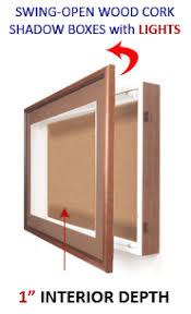 lighting frames. Wall Wooden Shadow Boxes With Lights (1\ Lighting Frames T