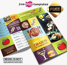 Free Two Fold Brochure Template Two Fold Brochure Template Psd Menu Free Bi Tri Design Margines Info