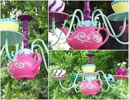 teapot chandelier