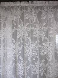 vintage lace curtain panels wonderful stephanegalland com decorating ideas 8