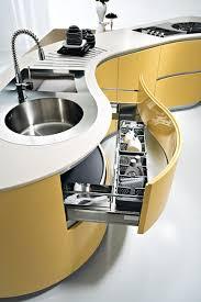 Curved kitchen cabinets. #kitchen #kitchendesign #kitchenremodel