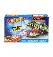 Игровой трек Hot Wheels <b>Crocodile</b> crunch купить с доставкой — 2 ...