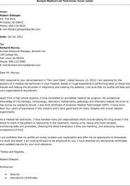 Cover Letter For Media Lab Technician Job Cover Letter For Research