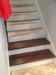 basement stairs. WOOD WITH RISERS Basement Stairs