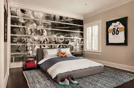 bedroom sports themed boys room wonderful sports theme boys room with large bed pillows area
