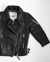 baby bandits black leather jacket