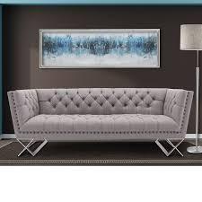 modern chesterfield sofa. Contemporary Chesterfield Borchert Contemporary Chesterfield Sofa Throughout Modern
