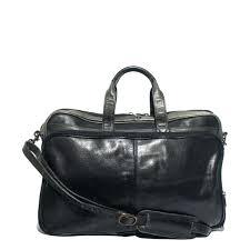 wilson leather messenger bag black lap top by wilsons pelle studio wilson leather messenger bag