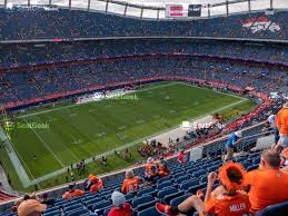 Broncos Tickets Seating Chart Your Ticket To Sports Concerts More Seatgeek