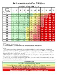Motorcycle Wind Speed Chart Wind Chill Chart Metric Bedowntowndaytona Com