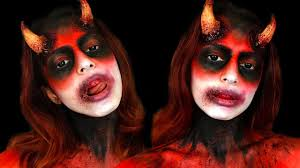 easy devil makeup