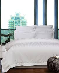 s quilt cover white stripe