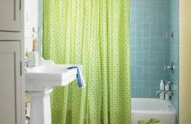green shower curtain hooks