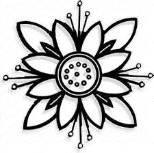 Easy Flower Coloring Pages Futuramame