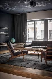 Dunkle Farbe Für Eine Moderne Inneneinrichtung Moderne