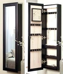 standing jewelry mirror armoire medium image for mirrored jewelry mirror jewelry box standing full length jewellery