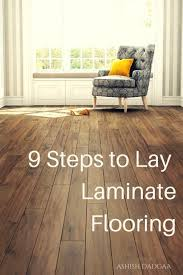 simple laying a laminate floor regarding how to install flooring on wood suloor dengarden