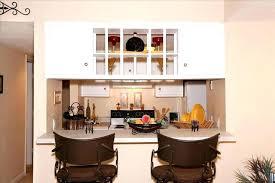 attractive kitchen breakfast bar against wall the island with granite buffet idea stool ikea design worktop