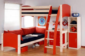 boy and girl bedroom furniture. Modern Kid Bedroom Furniture Decoration Ideas : Gorgeous Red Using Light Oak Wood Boy And Girl O