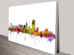city canvas wall art elegant san francisco city skyline wall canvas prints australia on wall art prints australia with city canvas wall art elegant san francisco city skyline wall canvas