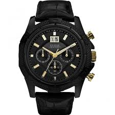 guess watches men s phantom black chronograph watch w0176g1 guess watches men s phantom black chronograph watch