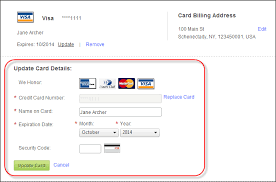 It gives merchants a way to verify the validity of a card number before accepting the customer's payment. Saved Credit Cards Control Overview