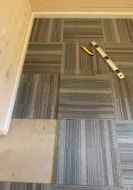 carpet tile installation patterns. Cutting The Carpet Tile Installation Patterns T