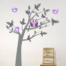 owl vinyl tree wall sticker decals