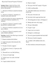 States Of Matter Worksheet Matter And Materials Grade 7 Worksheets ...