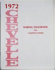 1972 el camino 1972 chevelle el camino wiring diagram