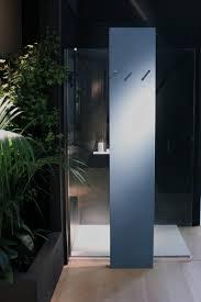 Begehbare Dusche mit integriertem Heizkörper als innovative Badlösung