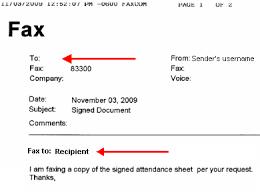 Example Of A Fax Message Enterprise Fax It Services Marquette University