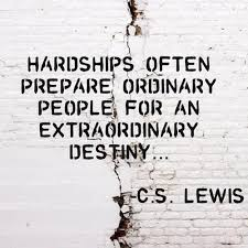 Quotes From Cs Lewis Fascinating Cs Lewis Quote Hardship Dust Off The Bible