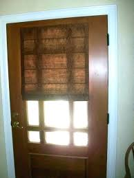 entry door window coverings home random front covering ideas glass blinds shades how to cover side coverin
