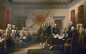 declaration painting signing the declaration of independence july 4th 1776 by john trumbull