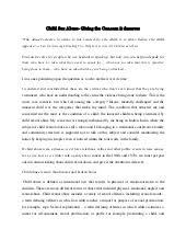 child abuse new essay