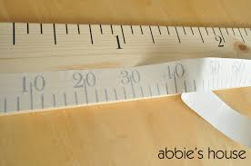 Growth Chart Ruler Decal Growth Chart Tut Abbies House Chore Charts And Planners