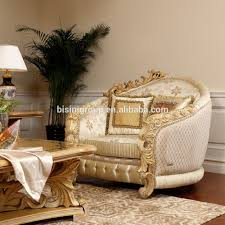 Luxury Couch Luxury Hand Carved Royal Golden Wooden Frame Sofa Setroyal