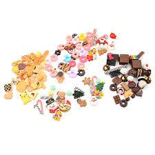 30pcs/lot <b>Mini</b> Play <b>Food</b> Cake Biscuit Donuts Dolls For Dolls ...
