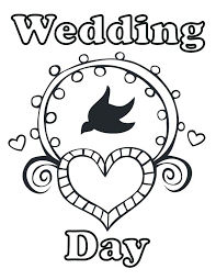 wedding coloring pages coloring pages wedding printable personalized wedding coloring activity by wedding ideas color activities